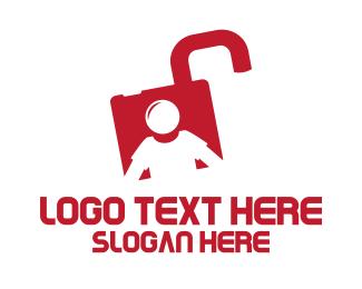 Locksmith - Lock Man logo design
