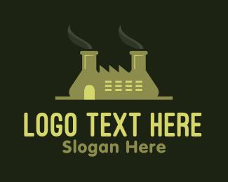 Chemist - Green Factory  logo design