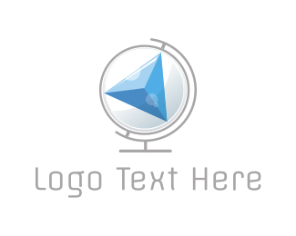 Compass Globe Logo
