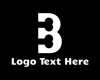 Number 3 - Bone Letter B logo design