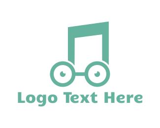Tune - Music Nerd logo design