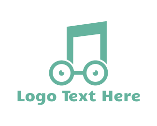 Musical - Music Nerd logo design