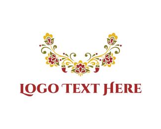 Garden - Elegant Floral Emblem logo design