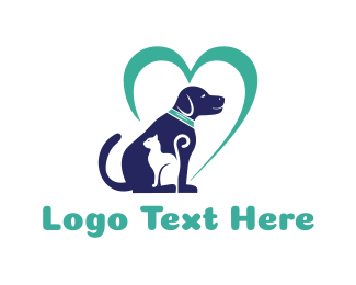 Pet Sitting - Pet Love logo design