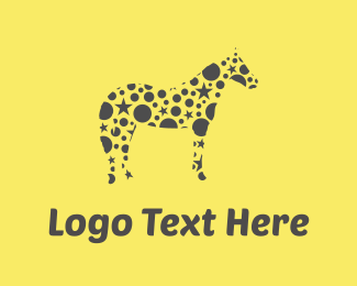 Magic - Star Horse logo design
