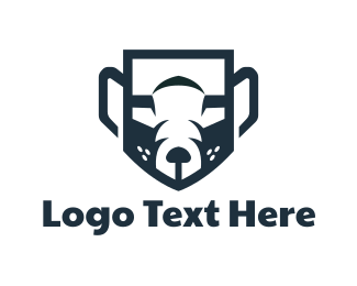 Rodent - Abstract Animal logo design