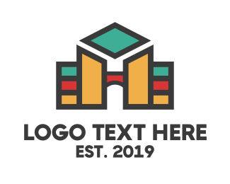 Text - Hotel University logo design