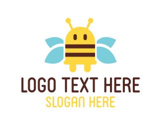 Bumblebee - Bee Plug logo design