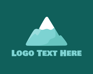 Hiking - Snow Peak logo design