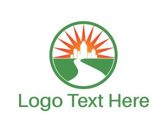 Skyscraper - Bright City logo design