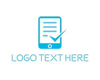 Cloud Computing - Document Sign Check logo design