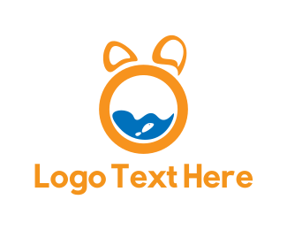 Fishbowl - Animal Letter O logo design