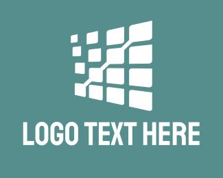 Window - White Data  logo design