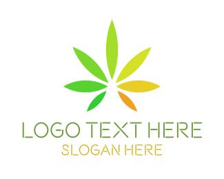 Cannabis - Cannabis Leaves logo design