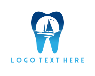 Tooth - Marine Tooth logo design