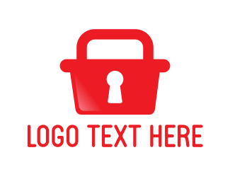 Warning - Safe Shopping logo design