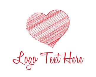 Heart - Red Heart logo design