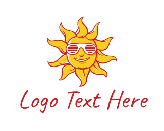 Surfer - Summer Sun logo design