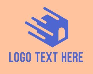 Minimalist - Fast Moving House logo design