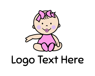 Doll - Baby Girl logo design
