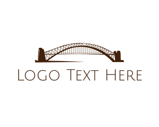 Arch - Arch Bridge  logo design