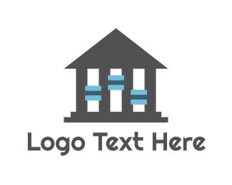 Washington - Music House logo design