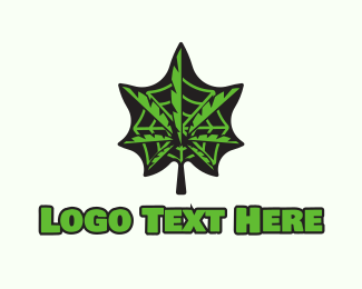 Pharma - Weed Web logo design