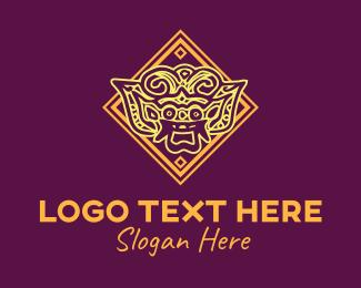 Tour - Asian Art logo design