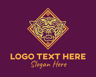 Indie - Asian Art logo design