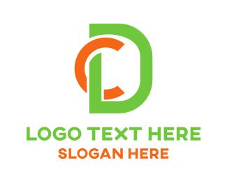 Modern - C & D logo design
