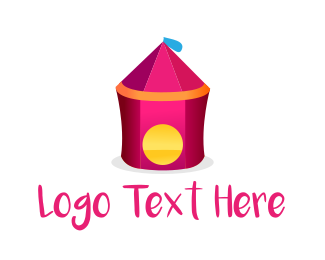Event Planning - Circus Tent logo design