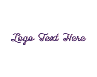 Vintage - Purple & Vintage logo design