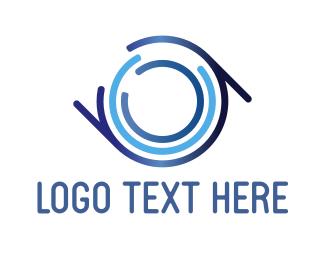 Round - Round B & A logo design