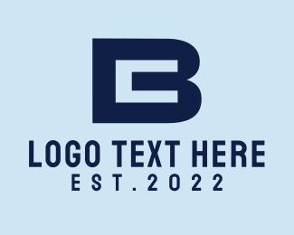 Letter C - B & C logo design