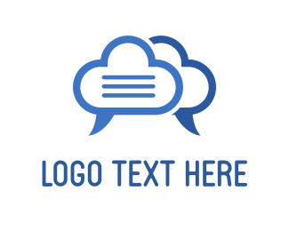 Social Network - Cloud Talk logo design