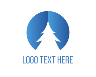 Pine - White Pine Tree logo design