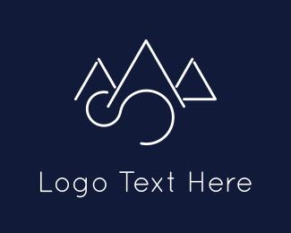 Goal - Elegant Mountains logo design