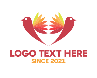Celebrant - Two Birds logo design