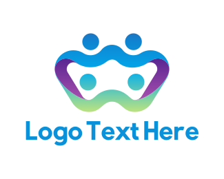 Family - Abstract Family  logo design