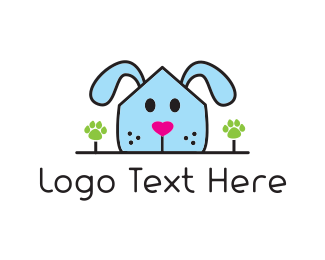 Veterinarian - Dog House logo design