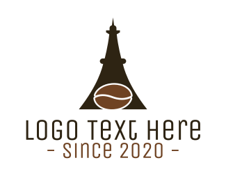 Eiffel - Eiffel Coffee Cafe  logo design