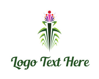 Tropical - Tropical Flower logo design
