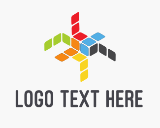 Programming - Color Boxes logo design