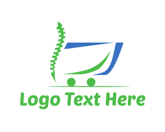 Therapy - Chiropractor Cart logo design
