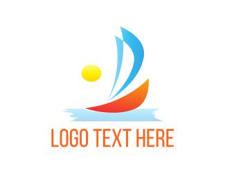 Sunny - Sunny Sailboat  logo design