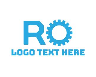 Letter O - Automotive R & O logo design