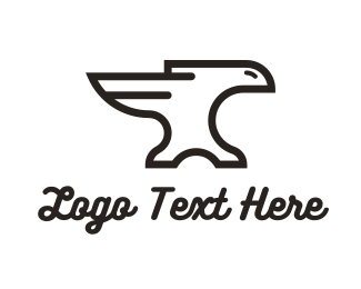 Fabrication - Iron Eagle logo design
