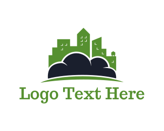 Seattle - Cloud City logo design