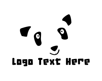 Panda - Happy Panda logo design