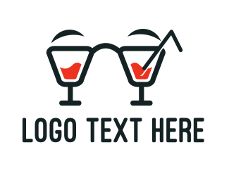 Mixer - Nerd Cocktails logo design